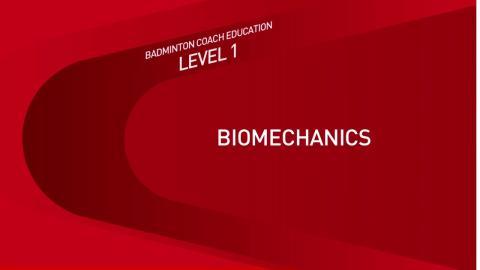 CE1M7V2 Biomécanique