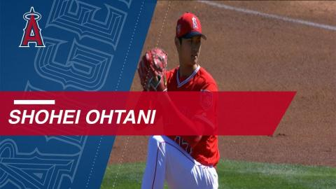 Extended Cut: Ohtani's 2018 spring pitching debut