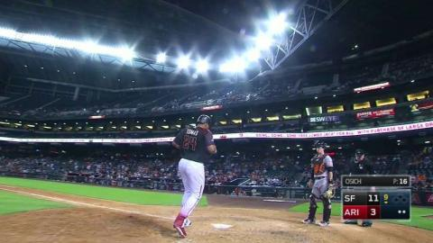 SF@ARI: Tomas hits a solo homer in the 9th