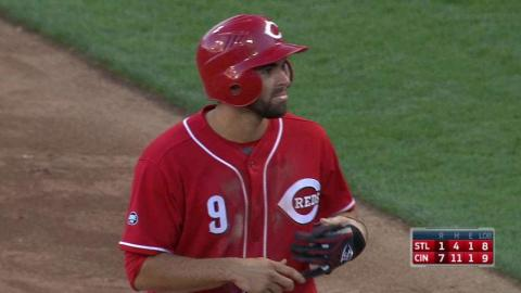 STL@CIN: Peraza extends lead with an RBI single