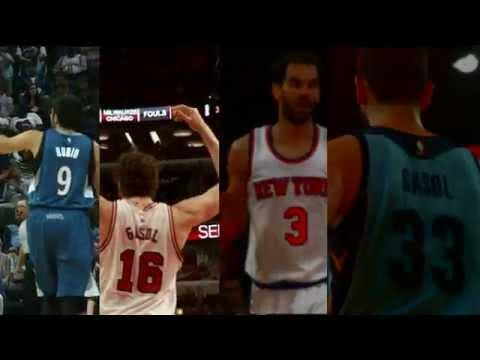 Spanish Players Best Highlights of the 2014-2015 NBA Season