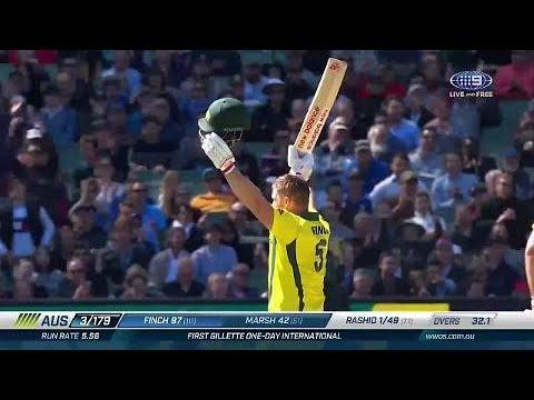 Finch fires at the MCG with a fine hundred