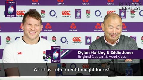 "Eddie Jones: ""No one else in the team would have scored that try"" 