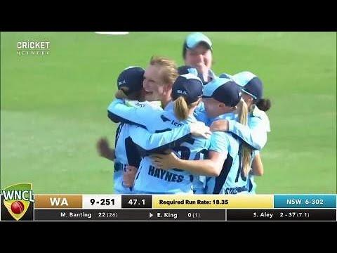 NSW Breakers v Western Fury, WNCL Final