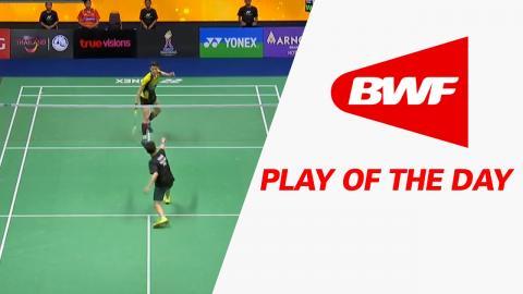 Play Of The Day | Badminton SF - Princess Sirivannavari Thailand Masters 2017