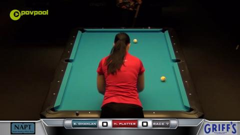 #7 - 10 BALL - Sharon O'HANLAN vs Heather PLATTER - 2017 NAPT Desert Challenge