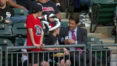 DET@CWS: Young White Sox fans on Tigers fans at game