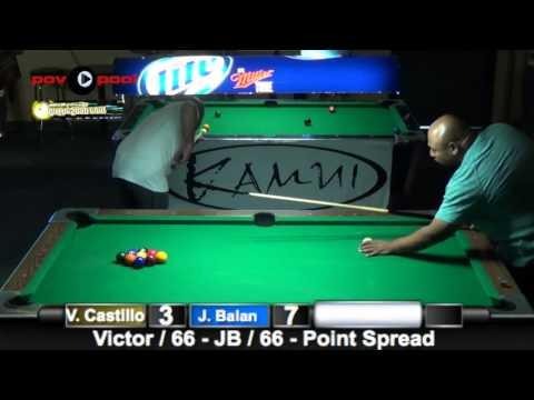 #2 - Jon Balan vs Victor Castillo - 9-Ball APA