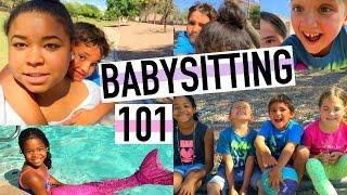 BABYSITTING 101: Cute Cousins,Soccer +Swimming!