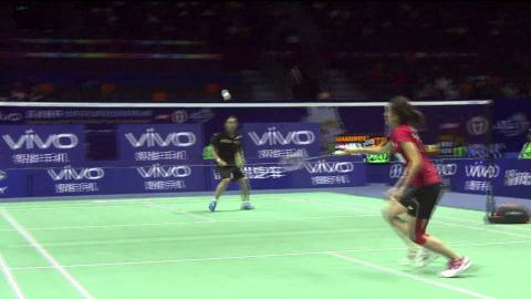 VIVO BWF SUDIRMAN CUP 2015   Indonesia vs Chinese Taipei – QF Highlights