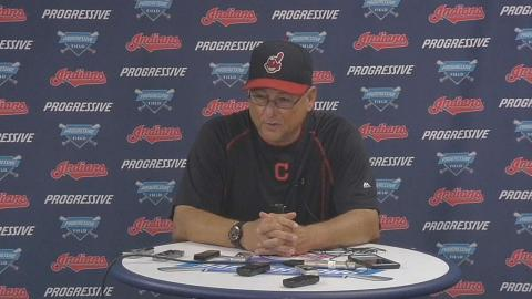 DET@CLE: Francona discusses Indians' win over Tigers