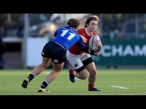 Irish Rugby TV: Leinster Women v Munster Women Highlights