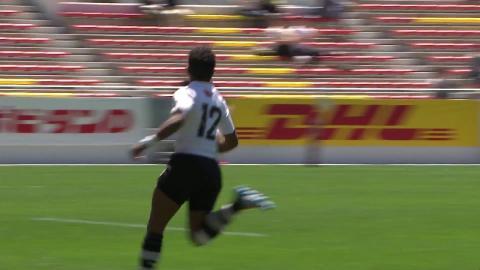 Ravisa shows incredible pace to score in Kitakyushu