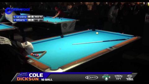 #5 • Edgie GERONIMO vs Jason WILLIAMS • 2016 Cole Dickson 10 Ball