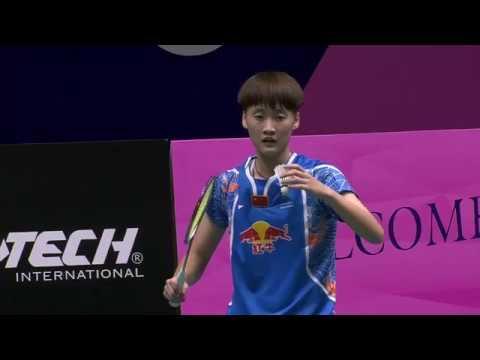 Macau Open 2016 | Badminton F M2-WS | Chen Yufei vs Chen Xiaoxin