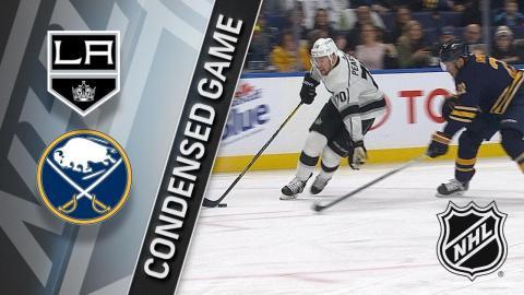 02/17/18 Condensed Game: Kings @ Sabres