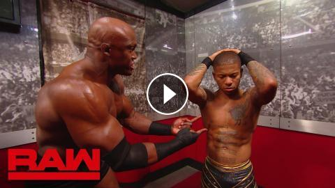 Lio Rush Tries To Smooth Things Over With Bobby Lashley Raw Feb