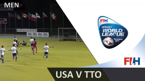 USA v Trinidad&Tobago - 2017 Men Hockey World League Round 2, Tacarigua