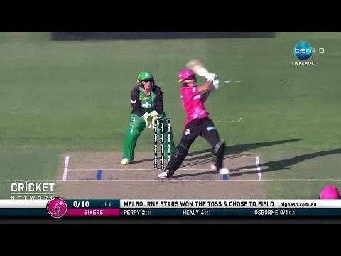 Sydney Sixers v Melbourne Stars, WBBL|03