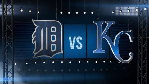 6/18/16: Royals ride offensive outburst past Tigers