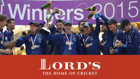 Gloucestershire Win The Royal London Cup | Lord's Highlights 2015