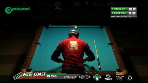 #12 • FINAL MATCH 2 •ORCOLLO vs PAGULAYAN / 2016 WCC 10-BALL