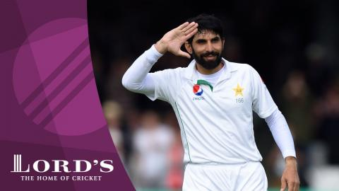 Misbah-ul-Haq on scoring a debut Test century at Lord's aged 42 | Honours Board Legends