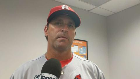 STL@NYM: Matheny discusses Wacha's shutout in win