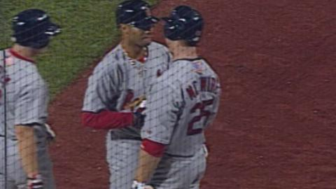 STL@PIT: Albert Pujols hits first career grand slam