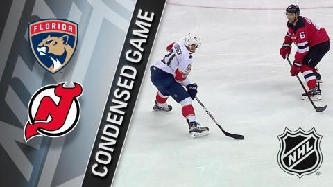 11/27/17 Condensed Game: Panthers @ Devils