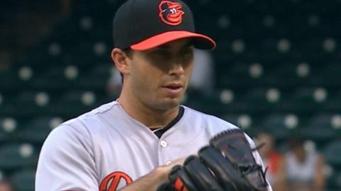 BAL@HOU: Gonzalez strikes out eight Astros in 6 2/3