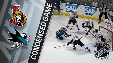 12/09/17 Condensed Game: Senators @ Sharks