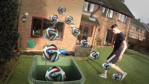 GoPro: 'Off the Wall' - Football Bin Shots!