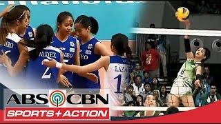 UAAP 77 Women's Volleyball: DLSU Vs ADMU Full Game HD