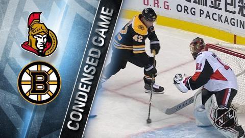 12/27/17 Condensed Game: Senators @ Bruins
