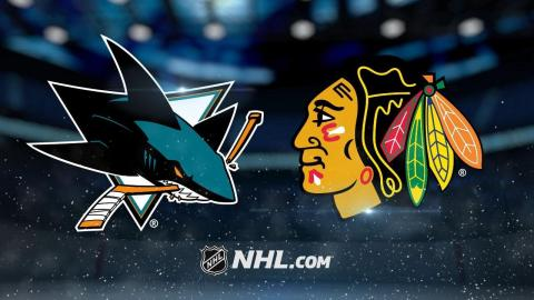 Berube, Schmaltz lead Blackhawks past Sharks, 3-1