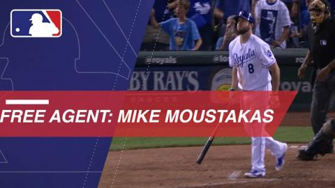 Moustakas available on the free agent market