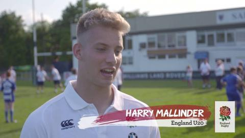 England Welcome Ceremony U20s Championship