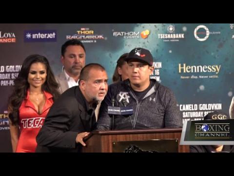 CANELO VS TRIPLE G FINAL PRESS CONFERENCE HIGHLIGHTS