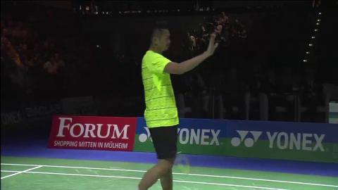 Yonex German Open 2016 | Badminton SF M3-MS | Son Wan Ho vs Lin Dan