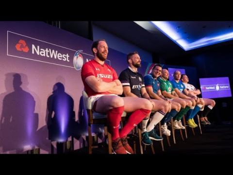 NatWest 6 Nations Launch Press Conference 2018 | NatWest 6 Nations