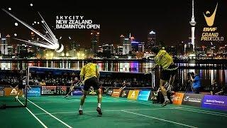 SKYCITY New Zealand Badminton Open 2015 Quarter Finals Court 2