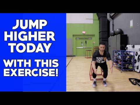 Jump Higher Today With Depth Drops! (Exercises To Increase Vertical Jump)