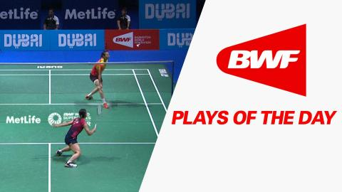 Plays Of The Day | Badminton SF – Dubai World Superseries Finals 2015