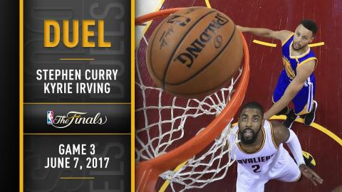 Duel: Kyrie Irving vs. Stephen Curry, NBA Finals Game 3 | June 7, 2017