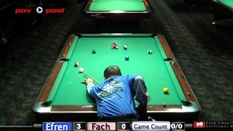 Pt 3 - Efren Reyes vs Fach Garcia / The Efren Reyes Challenge!