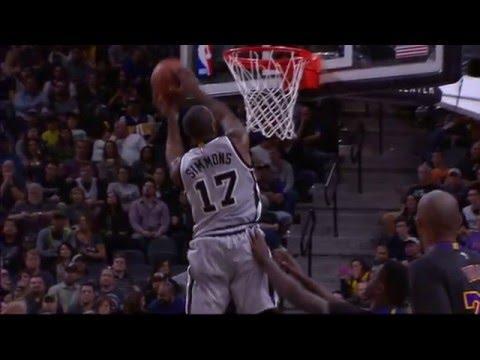 Jonathon Simmons Slams Home the Air Ball