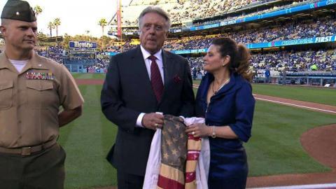 MIA@LAD: Broadcast talks about Monday saving the flag