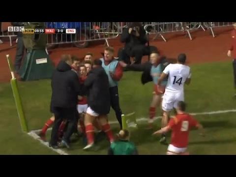 Highlights: Wales U20 21 England U20 37