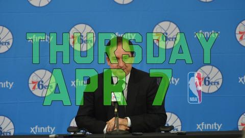NBA Daily Show: Apr. 7 - The Starters